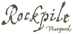 Rockpile Vineyards Logo